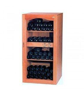 Vinoteca de madera 125 botellas ALBACEA