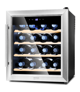 vinoteca-cecotec-grand-sommelier-1600-silencecoolwood-frontal