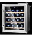 Vinoteca 16 botellas Cecotec Grand Sommelier 1600 SilenceWood