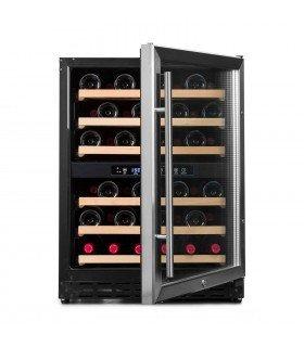 Vinoteca 50 botellas 50 GC 2T encastrable doble zona temperatura
